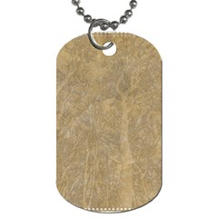 Abstract Forest Trees Age Aging Dog Tag (one Side)