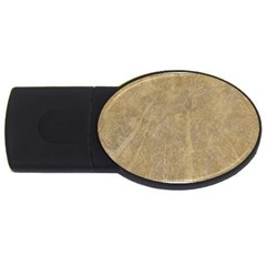 Abstract Forest Trees Age Aging USB Flash Drive Oval (2 GB)