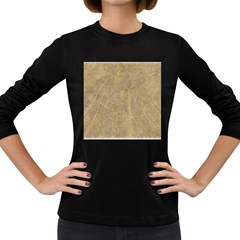 Abstract Forest Trees Age Aging Women s Long Sleeve Dark T Shirts