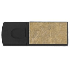 Abstract Forest Trees Age Aging USB Flash Drive Rectangular (4 GB)