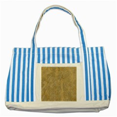 Abstract Forest Trees Age Aging Striped Blue Tote Bag