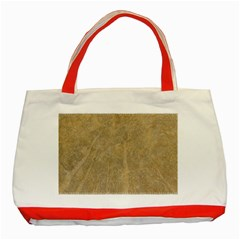 Abstract Forest Trees Age Aging Classic Tote Bag (red)