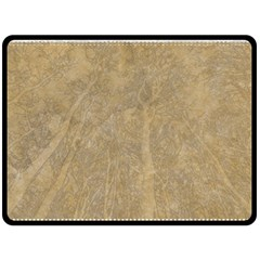 Abstract Forest Trees Age Aging Fleece Blanket (large)