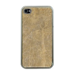Abstract Forest Trees Age Aging Apple iPhone 4 Case (Clear)