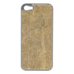 Abstract Forest Trees Age Aging Apple Iphone 5 Case (silver)