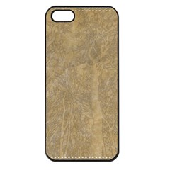 Abstract Forest Trees Age Aging Apple iPhone 5 Seamless Case (Black)
