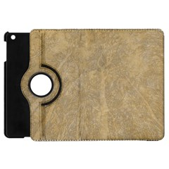 Abstract Forest Trees Age Aging Apple Ipad Mini Flip 360 Case