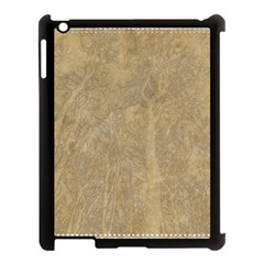 Abstract Forest Trees Age Aging Apple Ipad 3/4 Case (black)