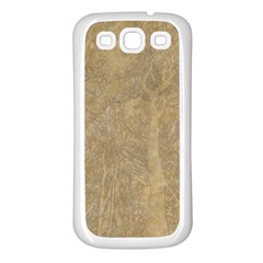 Abstract Forest Trees Age Aging Samsung Galaxy S3 Back Case (white)