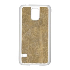 Abstract Forest Trees Age Aging Samsung Galaxy S5 Case (white)