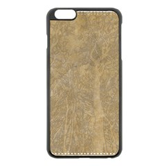 Abstract Forest Trees Age Aging Apple iPhone 6 Plus/6S Plus Black Enamel Case