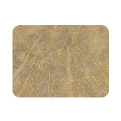 Abstract Forest Trees Age Aging Double Sided Flano Blanket (mini)