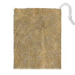 Abstract Forest Trees Age Aging Drawstring Pouches (XXL)