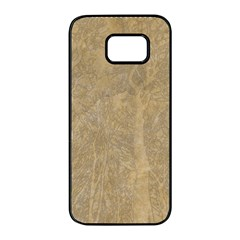 Abstract Forest Trees Age Aging Samsung Galaxy S7 Edge Black Seamless Case