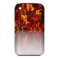 Effect Pattern Brush Red Orange Iphone 3s/3gs