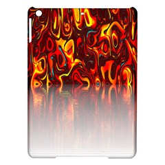 Effect Pattern Brush Red Orange Ipad Air Hardshell Cases