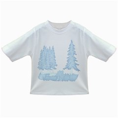 Winter Snow Trees Forest Infant/toddler T Shirts