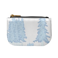 Winter Snow Trees Forest Mini Coin Purses