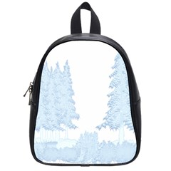 Winter Snow Trees Forest School Bags (small)