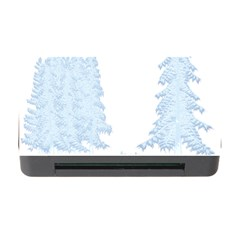 Winter Snow Trees Forest Memory Card Reader With Cf