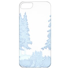 Winter Snow Trees Forest Apple Iphone 5 Classic Hardshell Case