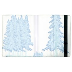 Winter Snow Trees Forest Apple Ipad 2 Flip Case