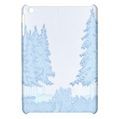 Winter Snow Trees Forest Apple Ipad Mini Hardshell Case