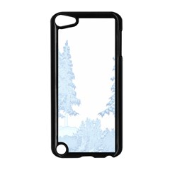 Winter Snow Trees Forest Apple iPod Touch 5 Case (Black)