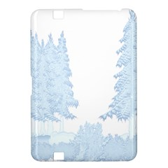 Winter Snow Trees Forest Kindle Fire Hd 8 9