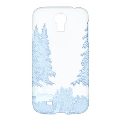 Winter Snow Trees Forest Samsung Galaxy S4 I9500/i9505 Hardshell Case