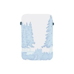 Winter Snow Trees Forest Apple Ipad Mini Protective Soft Cases