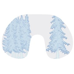 Winter Snow Trees Forest Travel Neck Pillows