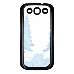 Winter Snow Trees Forest Samsung Galaxy S3 Back Case (black)