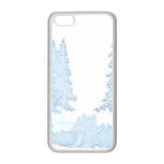 Winter Snow Trees Forest Apple Iphone 5c Seamless Case (white)