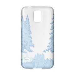 Winter Snow Trees Forest Samsung Galaxy S5 Hardshell Case