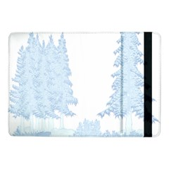 Winter Snow Trees Forest Samsung Galaxy Tab Pro 10 1  Flip Case