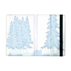 Winter Snow Trees Forest Ipad Mini 2 Flip Cases