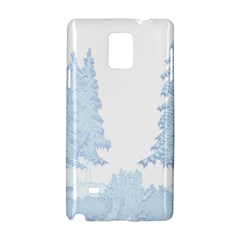 Winter Snow Trees Forest Samsung Galaxy Note 4 Hardshell Case