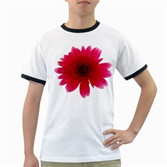 Flower Isolated Transparent Blossom Ringer T Shirts