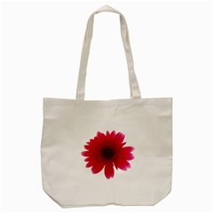 Flower Isolated Transparent Blossom Tote Bag (Cream)