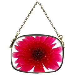 Flower Isolated Transparent Blossom Chain Purses (Two Sides)