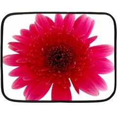 Flower Isolated Transparent Blossom Fleece Blanket (Mini)