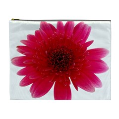 Flower Isolated Transparent Blossom Cosmetic Bag (xl)