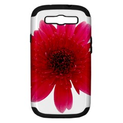 Flower Isolated Transparent Blossom Samsung Galaxy S Iii Hardshell Case (pc+silicone)