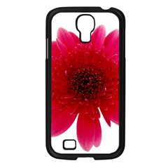 Flower Isolated Transparent Blossom Samsung Galaxy S4 I9500/ I9505 Case (black)