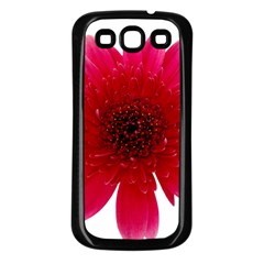 Flower Isolated Transparent Blossom Samsung Galaxy S3 Back Case (black)