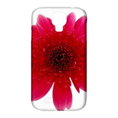 Flower Isolated Transparent Blossom Samsung Galaxy S4 Classic Hardshell Case (PC+Silicone)