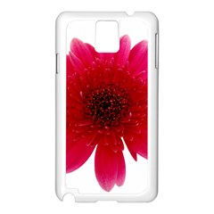 Flower Isolated Transparent Blossom Samsung Galaxy Note 3 N9005 Case (white)