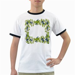 Birthday Card Flowers Daisies Ivy Ringer T Shirts