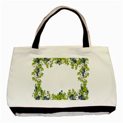 Birthday Card Flowers Daisies Ivy Basic Tote Bag